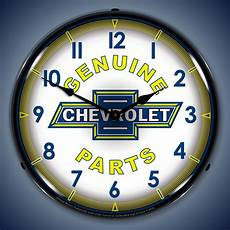 parts and service wall clocks lighted vintage ac chevrolet