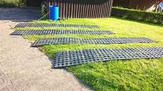 Kunststoff Rasengittersteine Ohne Unterbau Direkt Auf Den