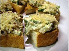 creamy zucchini crostini_image