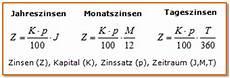prozentrechnung und zinsrechnung erkl 228 rung formeln