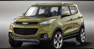 Rendering  Chevrolet Adra Sub 4m SUV Production Model