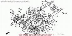 honda gl1500 goldwing 1989 k spain kph exhaust muffler