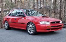 Subaru Impreza 1995 modified 1995 subaru impreza wagon 6 speed for sale on bat
