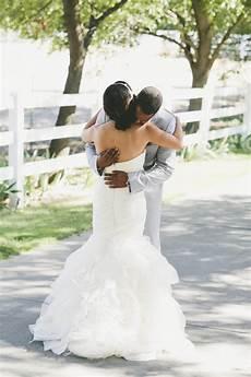 real wedding beautiful wearing ruffled mermaid organza wedding 171 pretty chic world