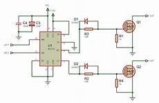tahmid s blog using the high low side driver ir2110 explanation and plenty of exle circuits