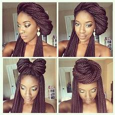 13 box braid updo styles you can try after your next install gallery braided hairstyles box