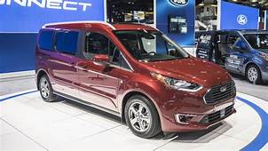 2019 Ford Transit Connect Van Revealed With New Gas And