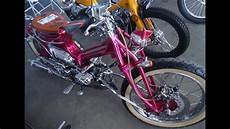 Modifikasi Honda C70 Chopper by Mantaap Detail Modifikasi C70 Choppy Cub Custom