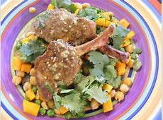 spiced lamb  with coriander pumpkin  21 day wonder diet  day 1_image