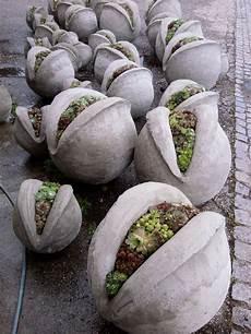 Zelfgemaakte Bollen Concrete Garden Cement Garden
