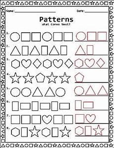 shapes patterns worksheets 1233 shape patterns worksheet for kindergarten 1st grade and 2nd grade