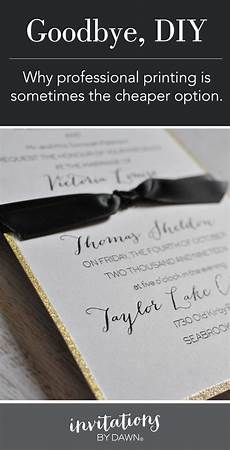 why professional wedding invitations are sometimes cheaper