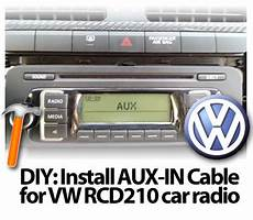matd s homepage diy install aux in cable for volkswagen