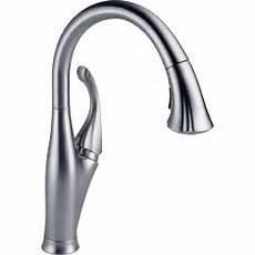 delta faucets kitchen delta faucet 9192 ar dst arctic stainless pullout spray kitchen faucets efaucets