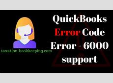 quickbooks error code list