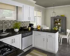 attractive kitchen color schemes with white cabinets furniture painting kitchen cabinets white