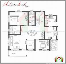 house plans in kerala with 3 bedrooms three bedroom house plan and elevation in 2000 sq ft