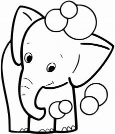 baby elephant coloring pages getcoloringpages