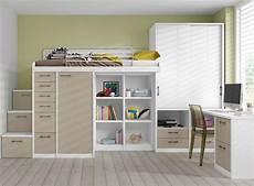 etagenbett mit schrank 38 design ideen f 252 r moderne unisex kinderbetten und