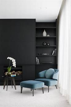 interior design in black 28 ideas for black wall interior styling