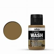 vallejo wash dark khaki green 35 acrylic paint brand new ebay