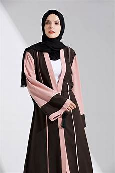 Dubai Style Muslim Abaya Turkish Cardigan Jilbab Maxi