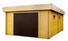garage bois en kit garage toit plat bois en kit chaletabri