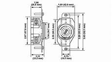 Leviton 240v 30a Nema L6 30r Socket For Heater L6 30r