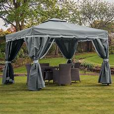 Pavillon 3x3 Wasserdicht - florence 3m x 3m grey waterproof canopy only frame and