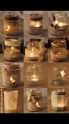 teelichter im glas einmachglas weihnachten weckglas diy