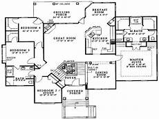 split entry house plans split foyer house plans split level house plans 4 bedroom