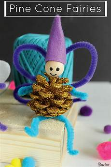 Craft For With Sparkle Pine Cones Darice