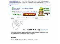 s day cryptogram worksheets 20322 st s day cryptogram worksheet for 3rd 5th grade lesson planet