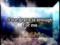 your grace is enough chris tomlin and lyrics