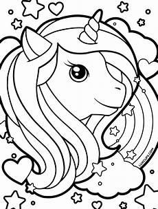 Malvorlagen Unicorn Theme Freebies Luxcups Creative
