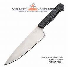 benchmade kitchen knives discontinued benchmade 4580 1 prestiedges 8 in chef knife