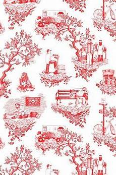 toiles on toile de jouy toile and toile wallpaper