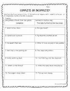 complete and incomplete sentences by jeanne armstrong tpt