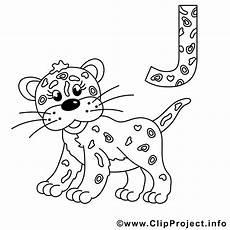 jaguar bild zum ausmalen buchstaben schablone