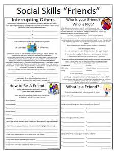 social skills worksheets for kids empowered by them social skills friends