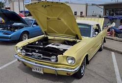 Sunlight Yellow 1964 Ford Mustang Convertible
