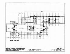 robie house floor plan robie house plan section elevation