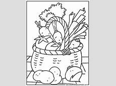 Legumes 39 Coloriage à colorier. Les coloriages et dessin