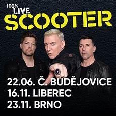 Scooter Tour 2019 česk 233 Budějovice Ticketlive Naživo