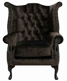 chesterfield armchair high back wing chair