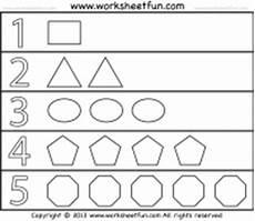 shapes and numbers worksheets for preschoolers 1207 shapes and numbers 1 worksheet free printable worksheets worksheetfun