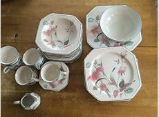 Mikasa Silk Flowers pattern dinnerware   New York 11740