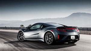 Wallpaper Honda NSX Acura Rear View 2017 Cars