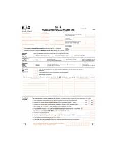 taxhow 187 tax forms 187 kansas form k 40