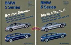car repair manuals online free 2005 bmw 525 electronic toll collection shop manual service repair bentley bmw 5 series book workshop e60 e61 guide ebay